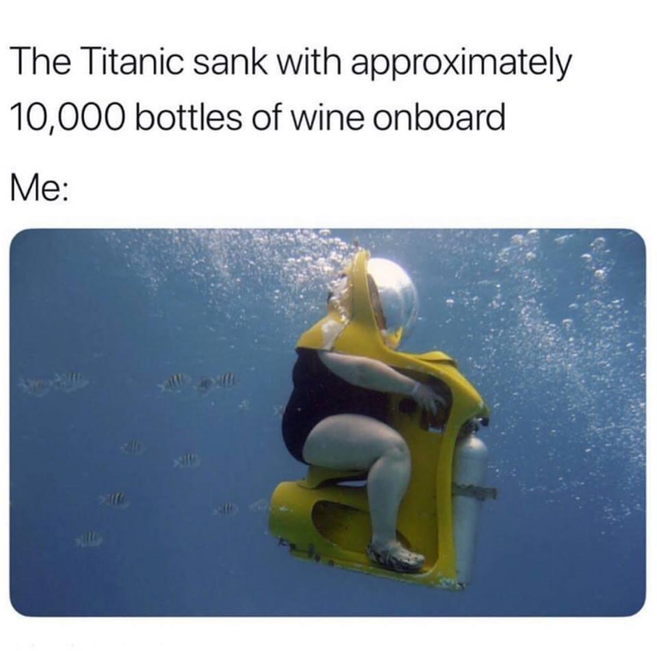 inspiration and fun titanic wine