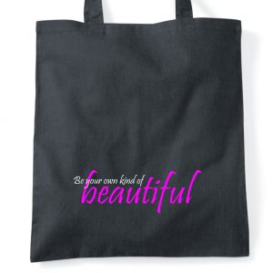 Be beautiful floaty collection tote bag