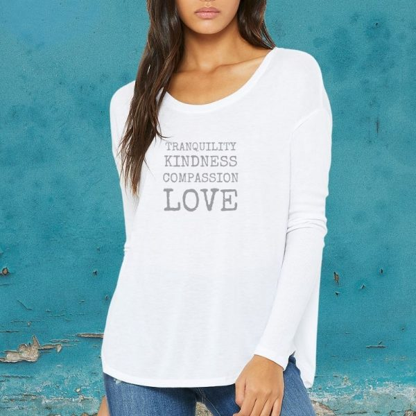 compassion long sleeved t-shirt