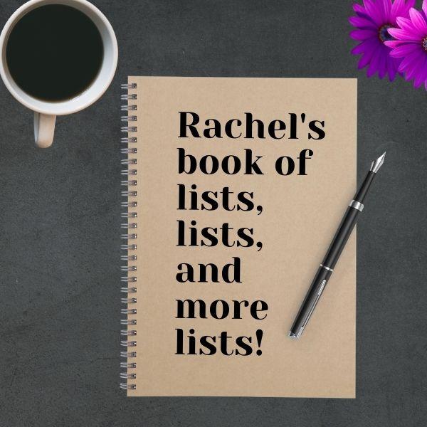 lists notebook