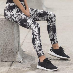 reversible leggings for meditation and yoga