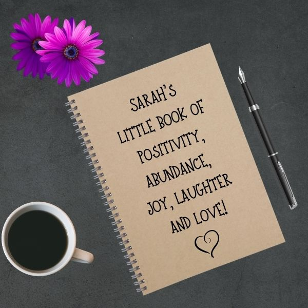 my happy soul notebook