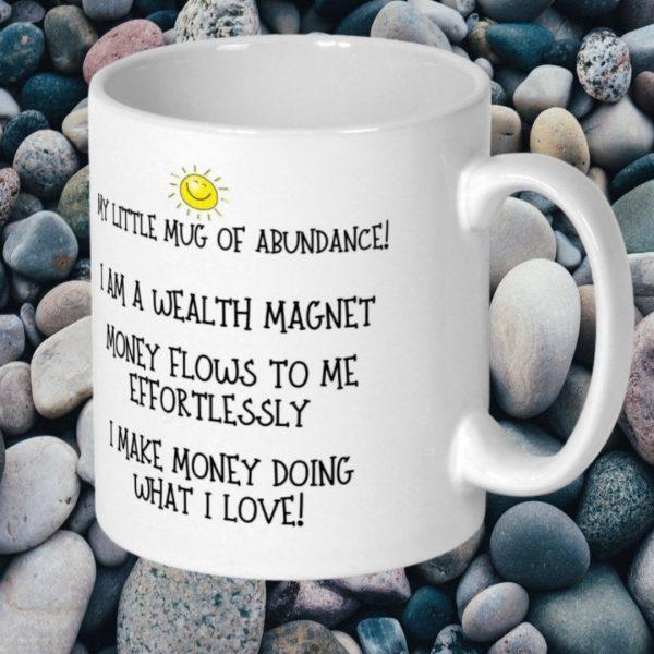 abundance mug my happy soul